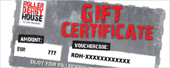 RollerDerbyHouse Gift Certificate - The perfect present!
